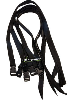 TK Legguard Straps Set (6 pieces) Black