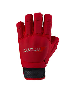 Grays TOUCH PRO Glove Lefthand Neon Rood