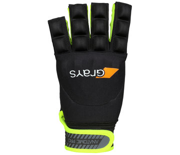 Grays Anatomic Pro Glove Links Zwart/Geel