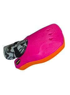 Obo ROBO Hi-Rebound Handprotector Oranje/Roze Links