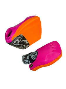 Obo ROBO Hi-Rebound Handprotector set Orange/Pink