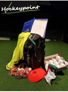 Hockeypoint Hockey coaching bag with content