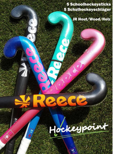 Hockeypoint Schoolhockey sticks JR Wood (set of 5)