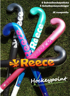 Hockeypoint Schoolhockey sticks JR composite (set van 5 stuks)
