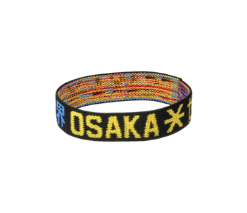 Osaka Bracelet Elastic Blau/Gelb/Schwarz