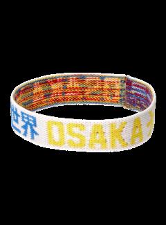 Osaka Bracelet Elastic Blau/Gelb/ Weiß