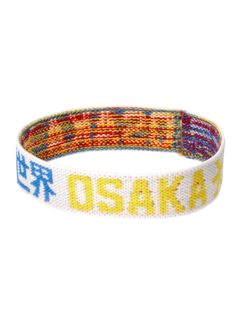 Osaka Bracelet Elastic Blue/Yellow/White