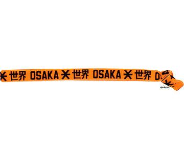 Osaka Elastic Hairband Black / Orange