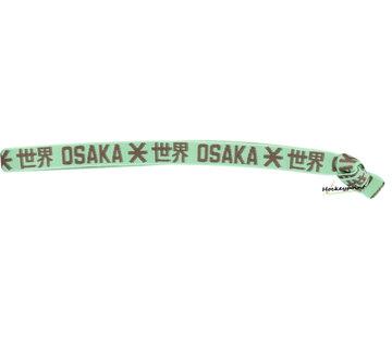Osaka Elastisches Haarband Grey / Mint