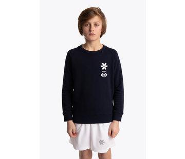 Osaka Deshi Sweater Warpy - Navy Melange