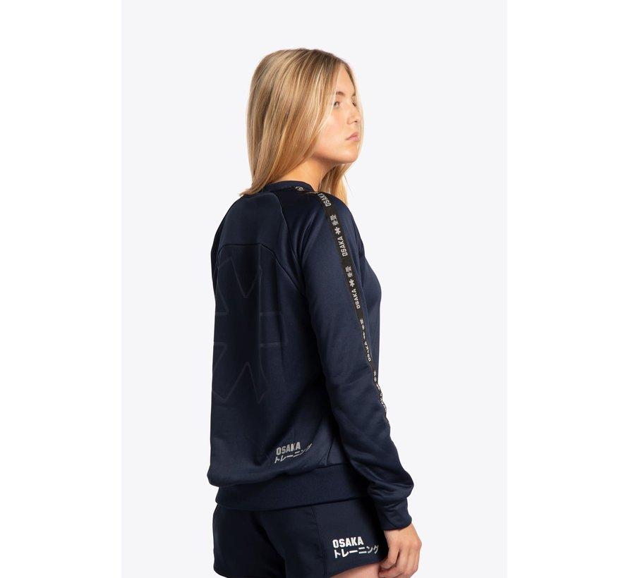 Women Training Sweater – Navy