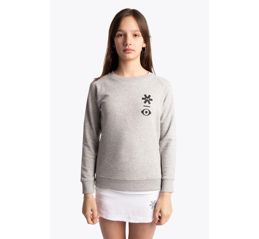 Deshi Sweater Warpy - Heather Grey