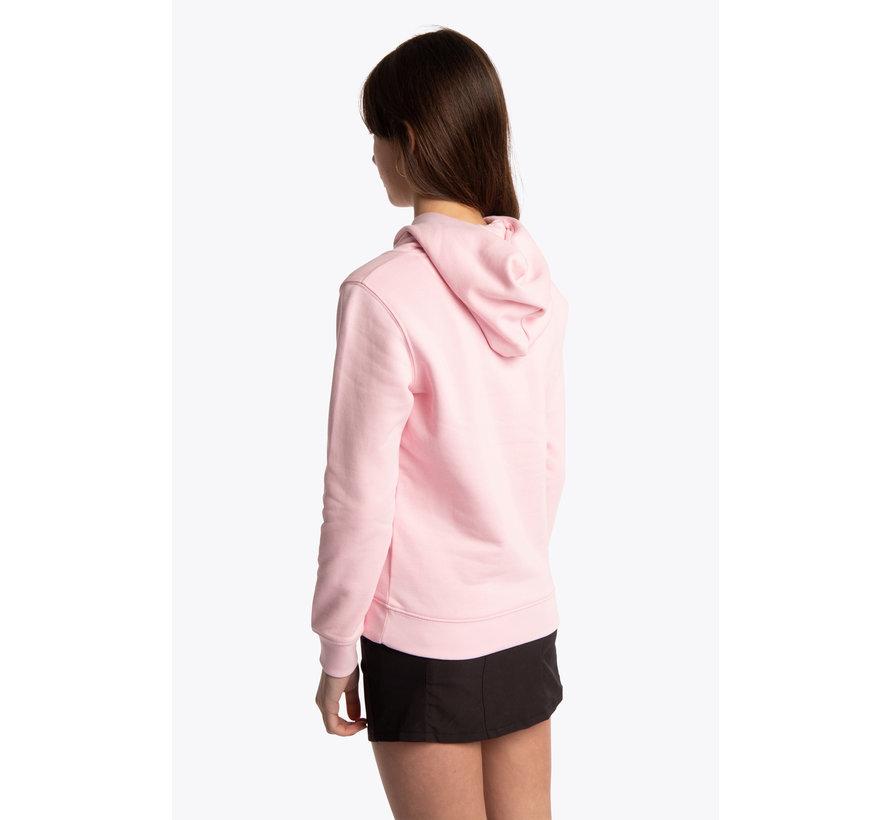 Deshi Hoodie Weiß Star - Cotton Pink