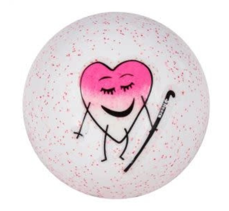 Emoticon Hockey Ball Pink