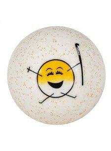 Reece Emoticon Hockey Ball Yellow
