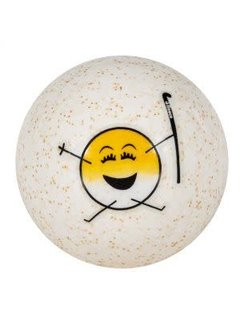 Reece Emoticon Hockey Ball Gelb