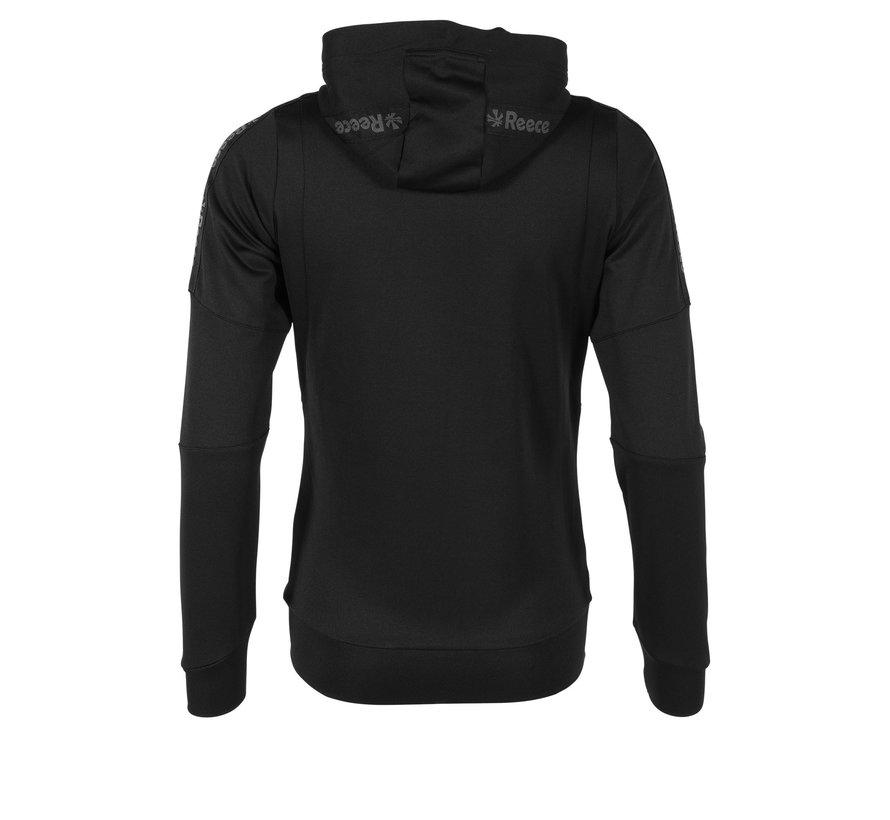 Cleve TTS Hooded Sweat Full Zip Ladies Black