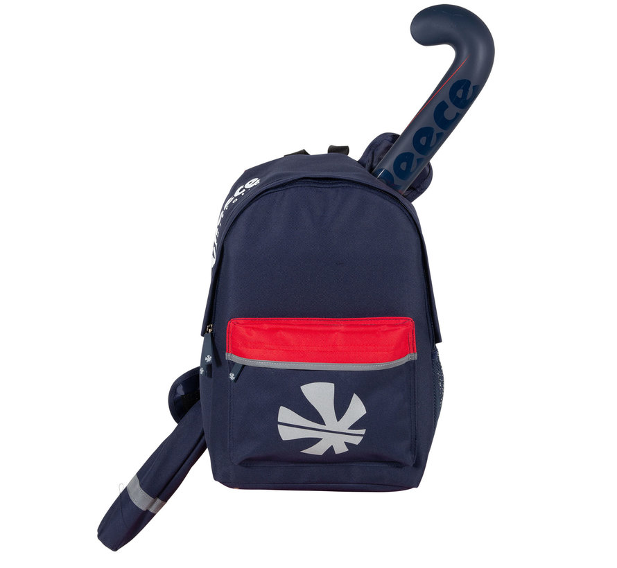 Cowell Backpack Navy / Rood / Wit