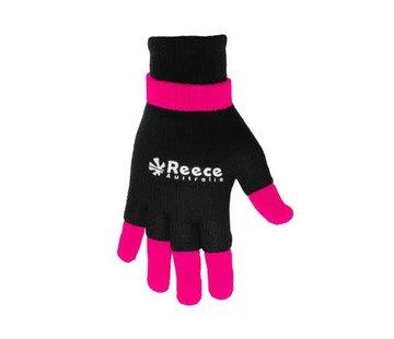 Reece Knitted Ultra Grip Handschuh 2 in 1 Schwarz/Rosa