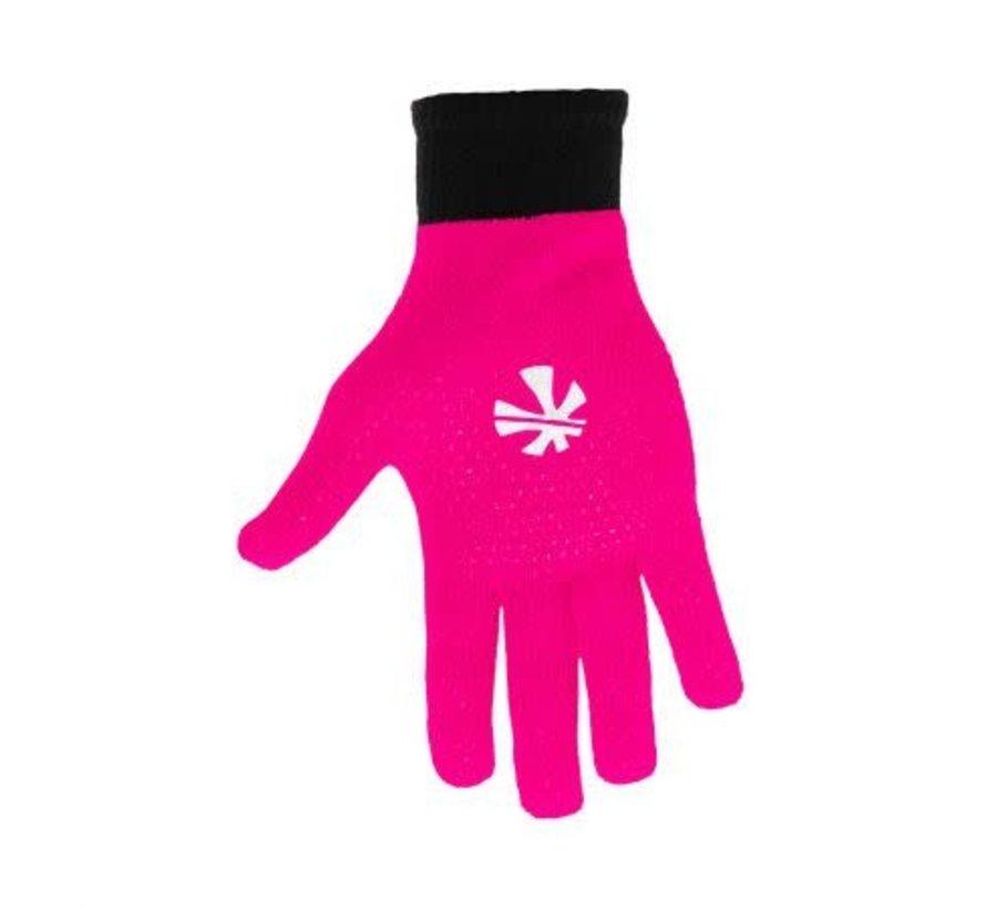 Knitted Ultra Grip Handschuh 2 in 1 Schwarz/Rosa