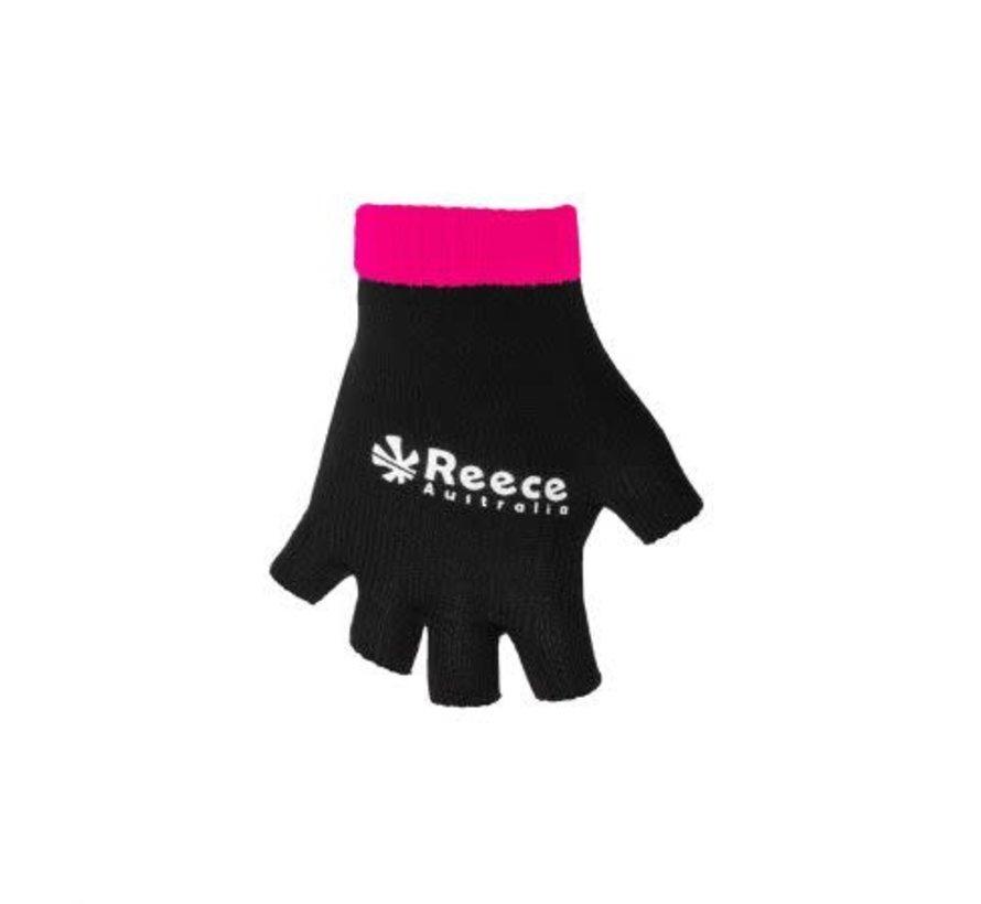 Knitted Ultra Grip Glove 2 in 1 Zwart / Roze