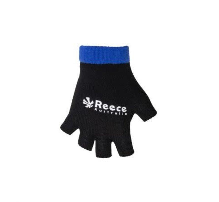 Knitted Ultra Grip Glove 2 in 1 Zwart / Blauw