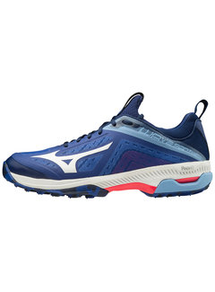 Mizuno Wave Panthera Blue/White/ Diva Pink
