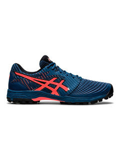 Asics Field Ultimate FF-Mako Blue/Flash Coral Men
