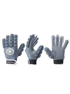 Indian Maharadja Glove shell/foam full finger Denim [left]