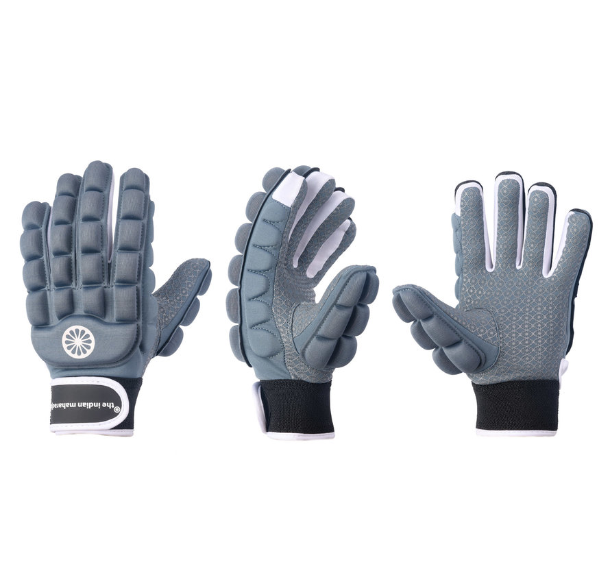 Handschoen foam hele vingers Denim [links]