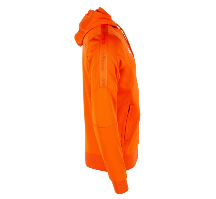 Cleve TTS Hooded Sweat Full Zip Unisex Orange
