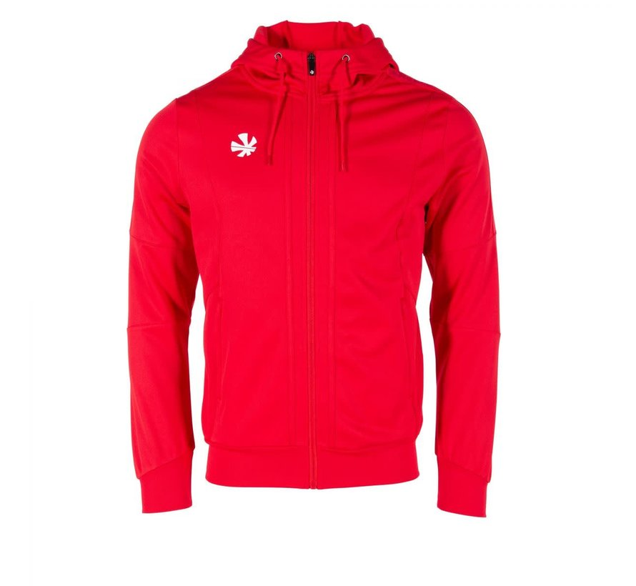 Cleve TTS Hooded Sweat Full Zip Red