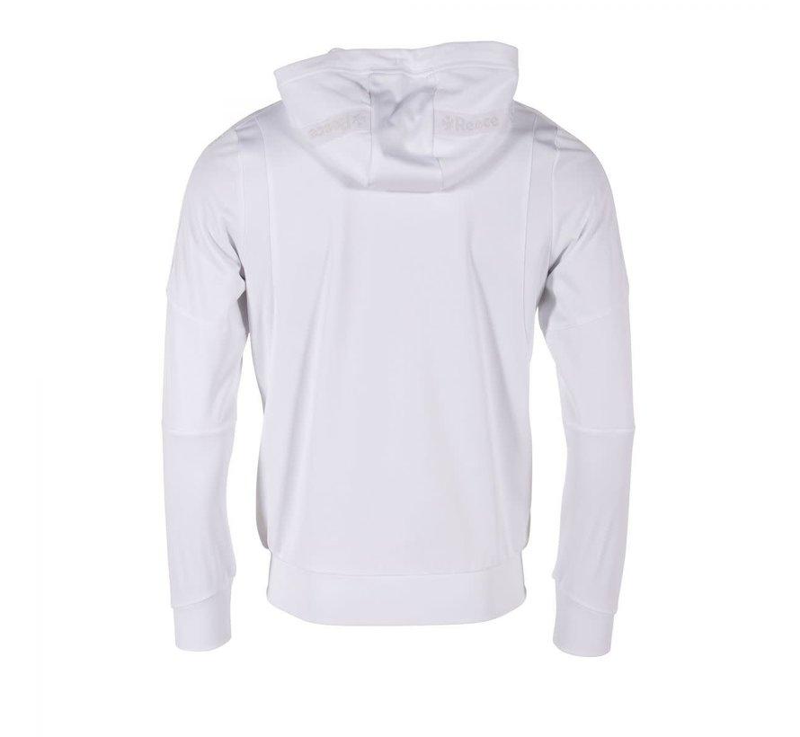 Cleve TTS Hooded Sweat Full Zip Unisex Weiss