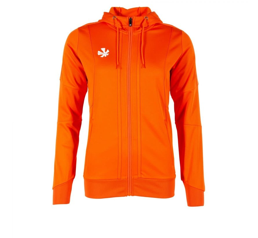 Cleve TTS Hooded Sweat Full Zip Ladies Orange