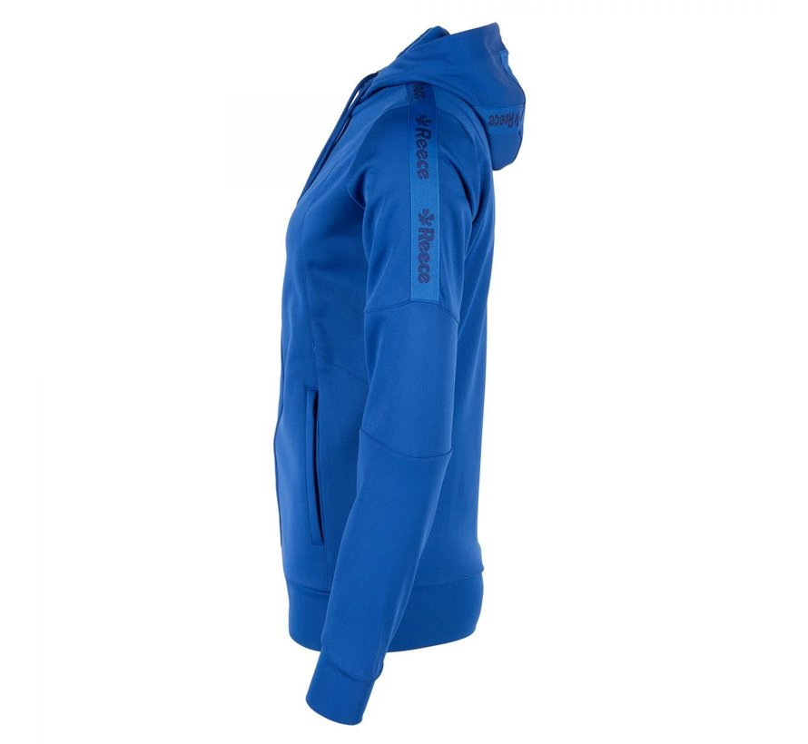 Cleve TTS Hooded Sweat Full Zip Ladies Royal