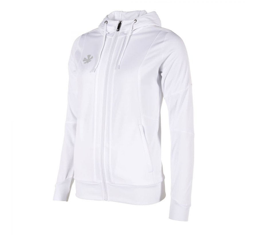 Cleve TTS Hooded Sweat Full Zip Ladies White