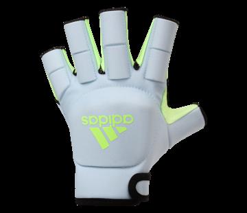 Adidas OD Glove 20/21 Sky Tint/Signal Green hockey handschoen