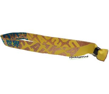 Osaka Bracelet Bronze / Blue / Yellow