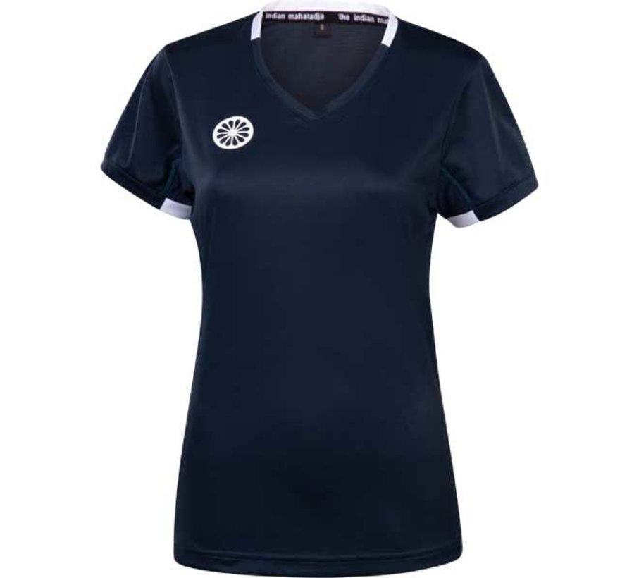 Girls Tech Shirt Navy