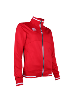 Indian Maharadja Kids Knitted Tech Jacket Red