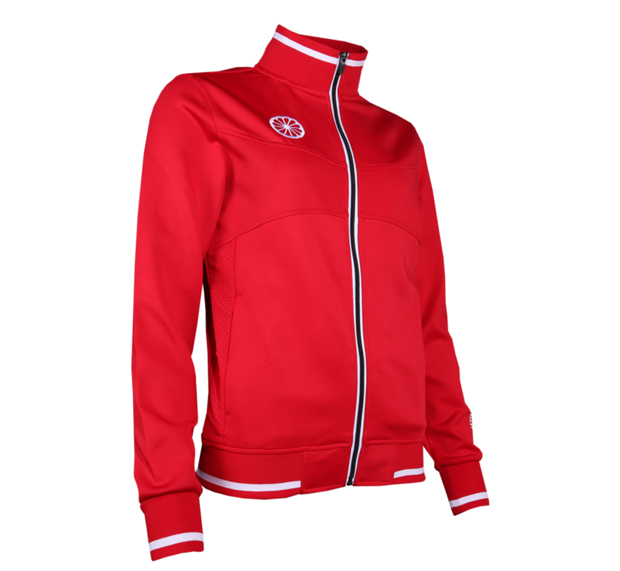 Kids Knitted Tech Jacket Rood