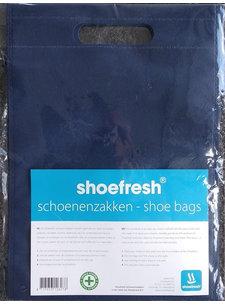 Shoefresh Schoenzak Navy ( 2 stuks )