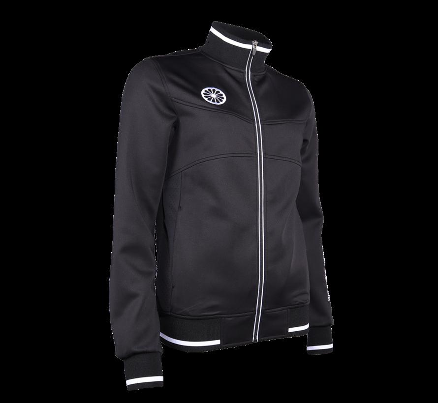 Womens Knitted Tech Jacket black