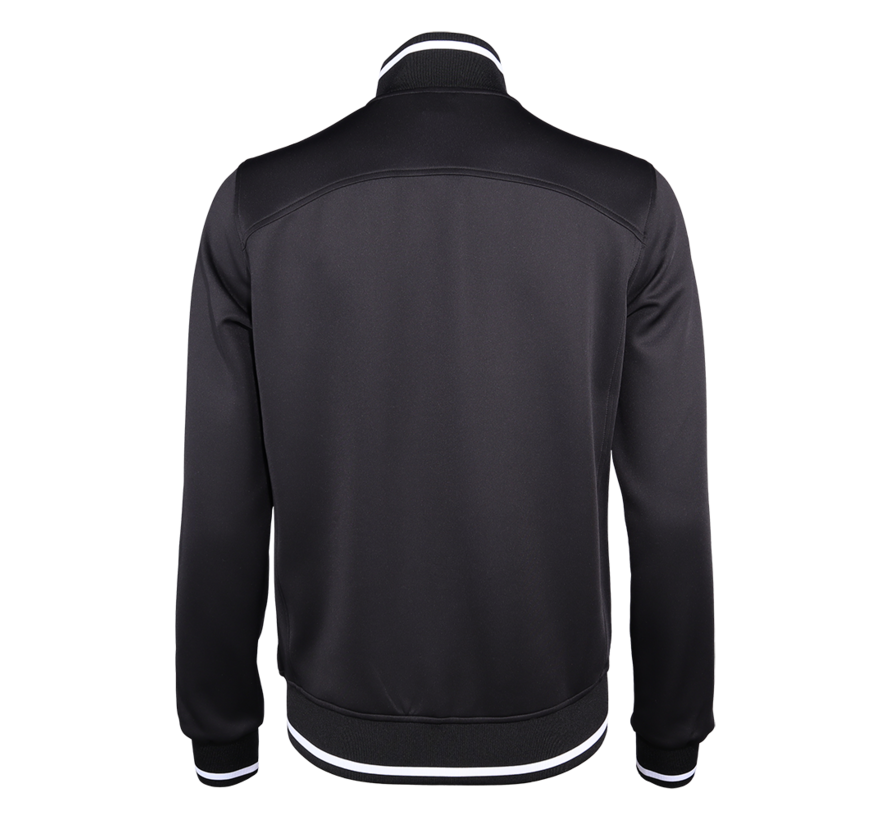 Mens Knitted Tech Jacket black