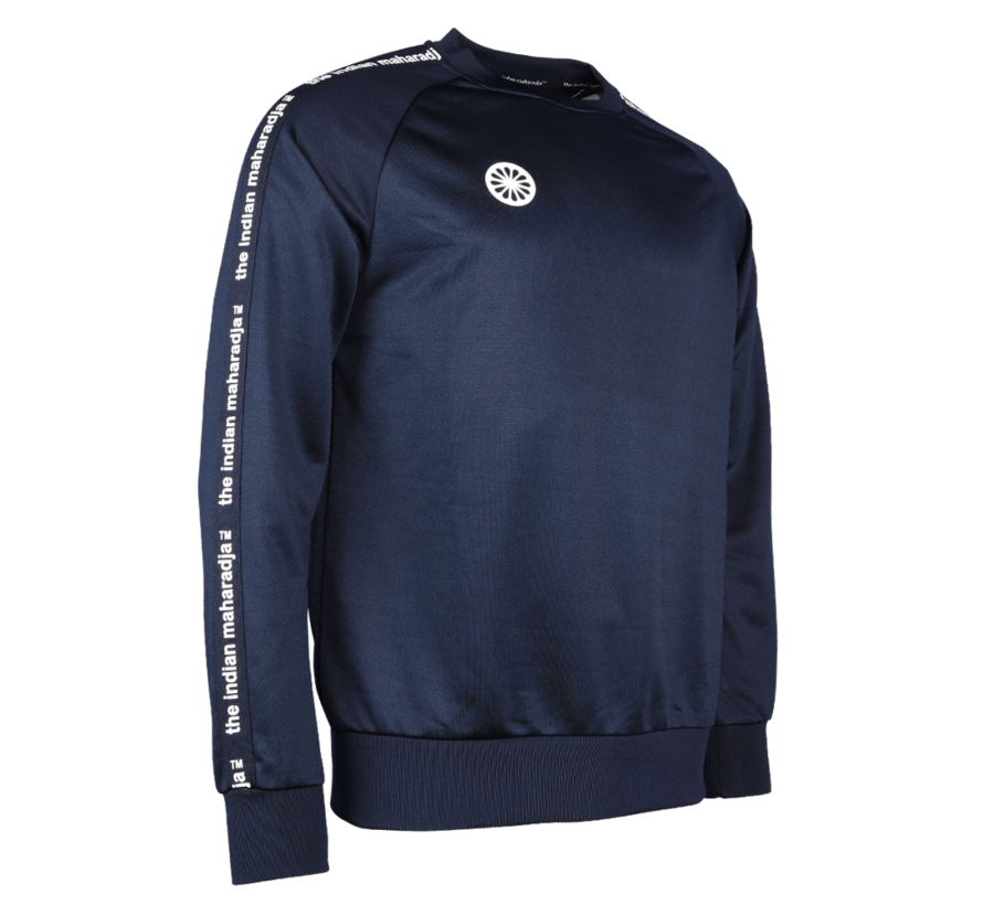 Kids Sweater Poly Terry Navy