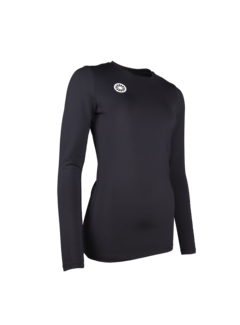 Indian Maharadja Women Thermo shirt black
