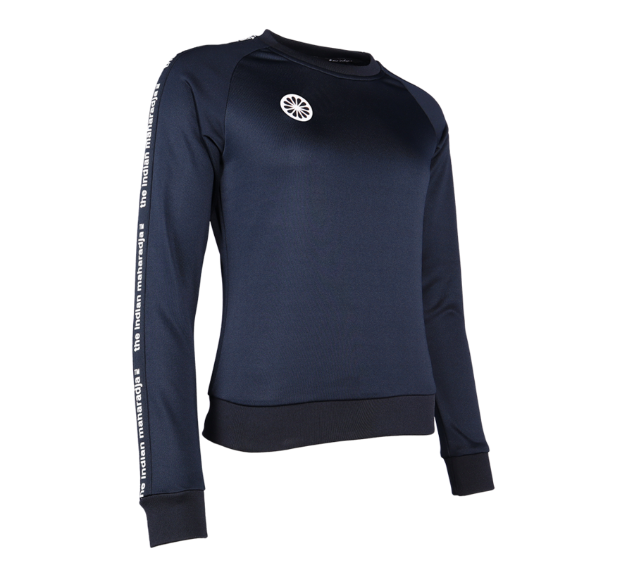 Women Sweater Poly Terry Navy