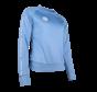 Women Sweater Poly Terry Blauw