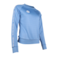Women Sweater Poly Terry Blue