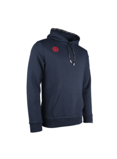 Indian Maharadja Herren Hooded Sweat Stretch Logo Navy